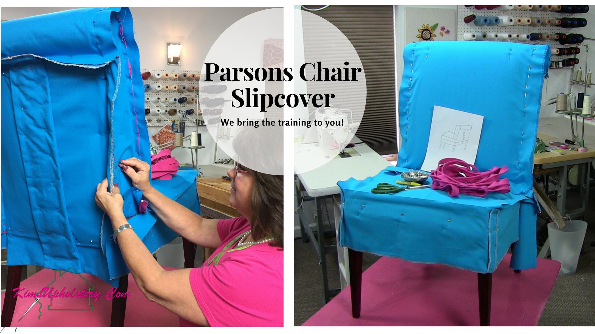 Parsons Chair Slipcover #slipcover
