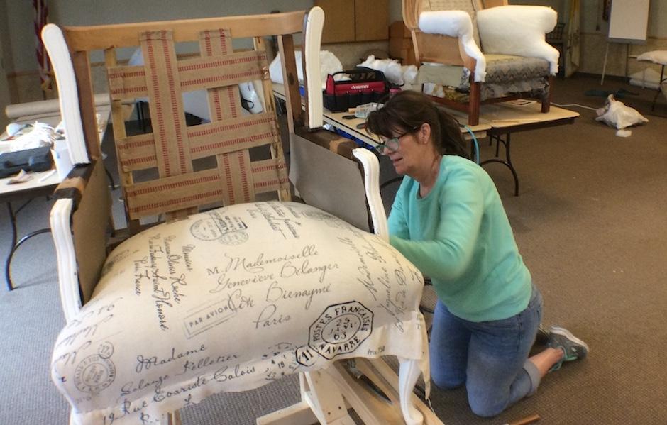 Hands On Upholstery Workshop Lenoir City TN